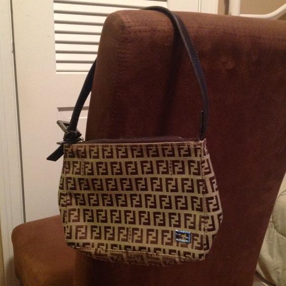 Fendi Handbags - Authentic Fendi vintage Zucca Logo Small handbag 6f8293136b453